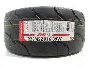 one Tyre Nankang 225/45R16 AR-1