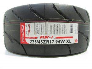 one 225/45R17 tyre Nankang AR-1