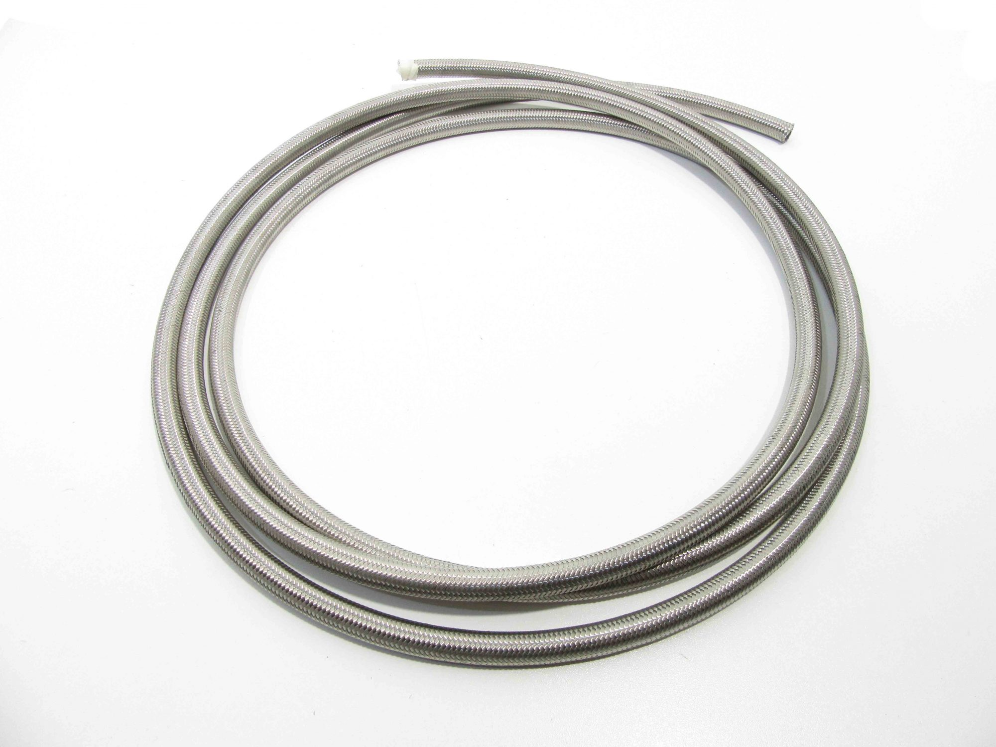 3AN Stainless Braided Teflon Brake Hose 10m 3 AN