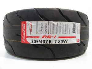 205/40R17 Nankang AR-1 Competition Semi Slick Tyre