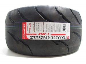 275/35R19 Nankang AR-1 Competition Semi Slick Tyre