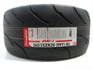265/35R20 Nankang AR-1 Competition Semi Slick Tyre