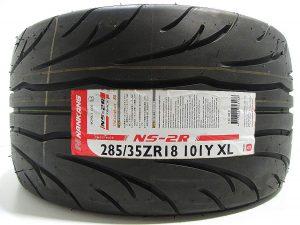 285/35R18 Nankang NS2R Semi Slick Tyre 80 Treadwear