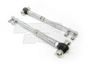 KKR Caster Rods Suit Nissan S13/S14/S15/R32/R33/R34/Z32/A31/C33 pair of chrome arms