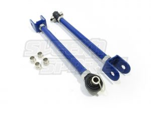 KKR Rear Nissan Toe Arms pair of blue arms
