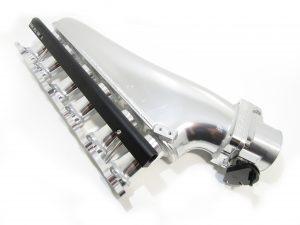 Proflow Intake Plenum 2JZGTE 90mm Throttle Body and Fuel Rail