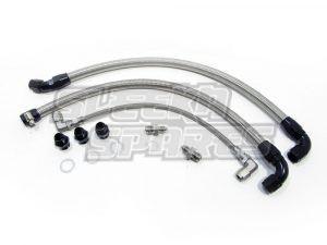 S13 SR20DET Braided Turbo Line Kit