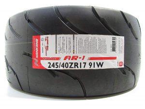 245/40R17 Nankang AR-1 Competition Semi Slick Tyre