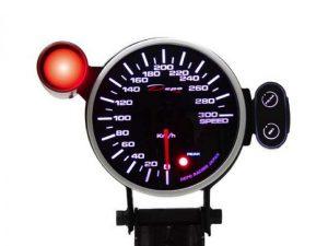 Depo Speedometer Gauge 95mm (Peak Recall Type)