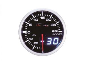 Depo Boost Gauge 60mm (Dual Display)