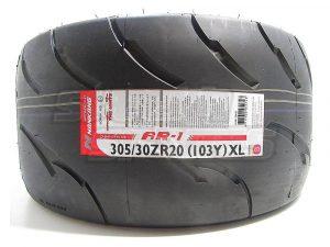 305/30R20 Nankang AR-1 Competition Semi Slick Tyre