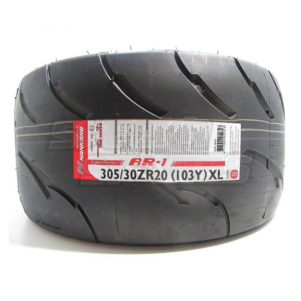 305/30R20 Nankang AR-1 Competition Semi Slick Tyre