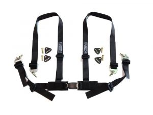 Velo Clubman 4 Point Harness (Black)