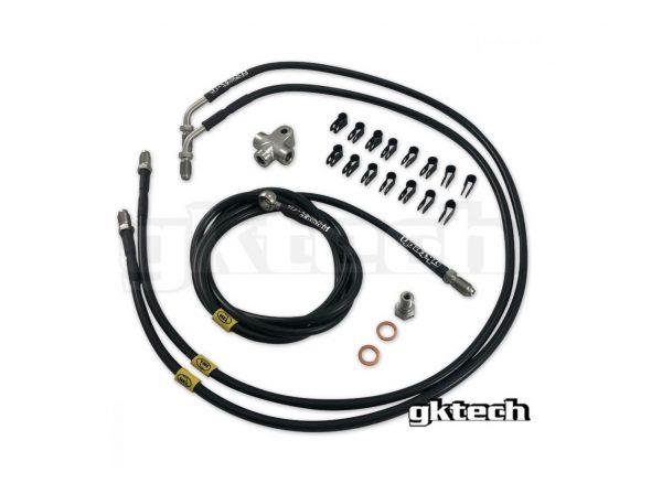 GKTech 2 Pot Dual Caliper Line Kit