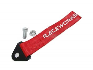 Raceworks Tow Strap Red