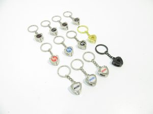 12 mazda rotor shaped key chains