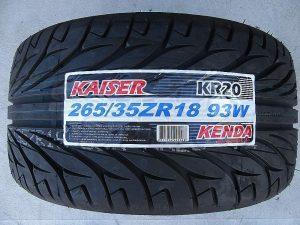 one 265/35R18 Kenda KR20 Tyre