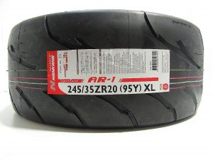 245/35R20 Nankang AR-1 Competition Semi Slick Tyre