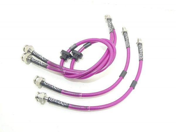 S13 pink brake lines