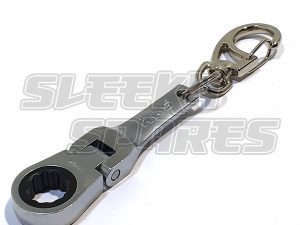 HKS 10mm Ratchet Spanner Keyring