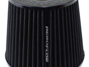 "AeroFlow Air Filter 3"" Inverted Black"