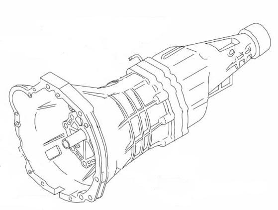 R34 Gearbox Diagram