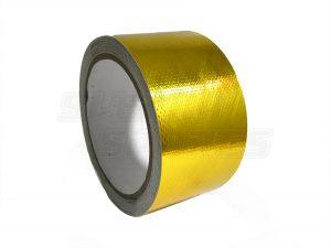 Raceworks Gold Reflective Adhesive Heatproof Tape 51mmx9.1m