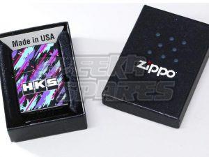HKS ZIPPO ~ Limited Edition Oil Splash Design